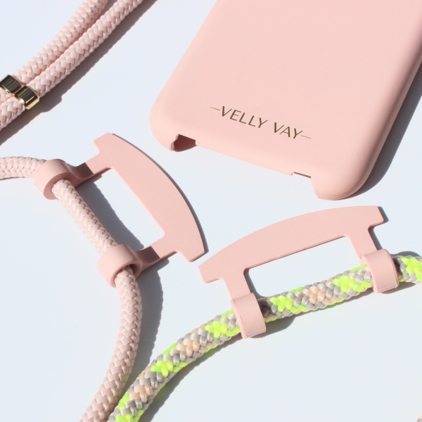 NECKLACE CASE 2 in 1 - Powder Pink