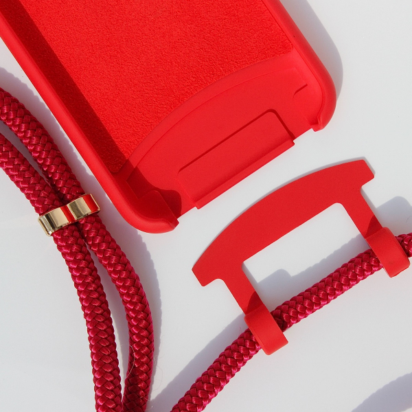 NECKLACE CASE 2 in 1 - Red